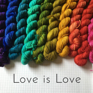 "Cosette DK ""Love is Love"" Gradient Yarn Pack"