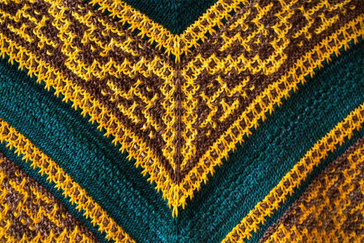 Meet Me at Midnight Shawl Kit