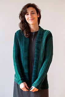 Monokrom Cardigan Kit (DK Weight) - Pattern Included