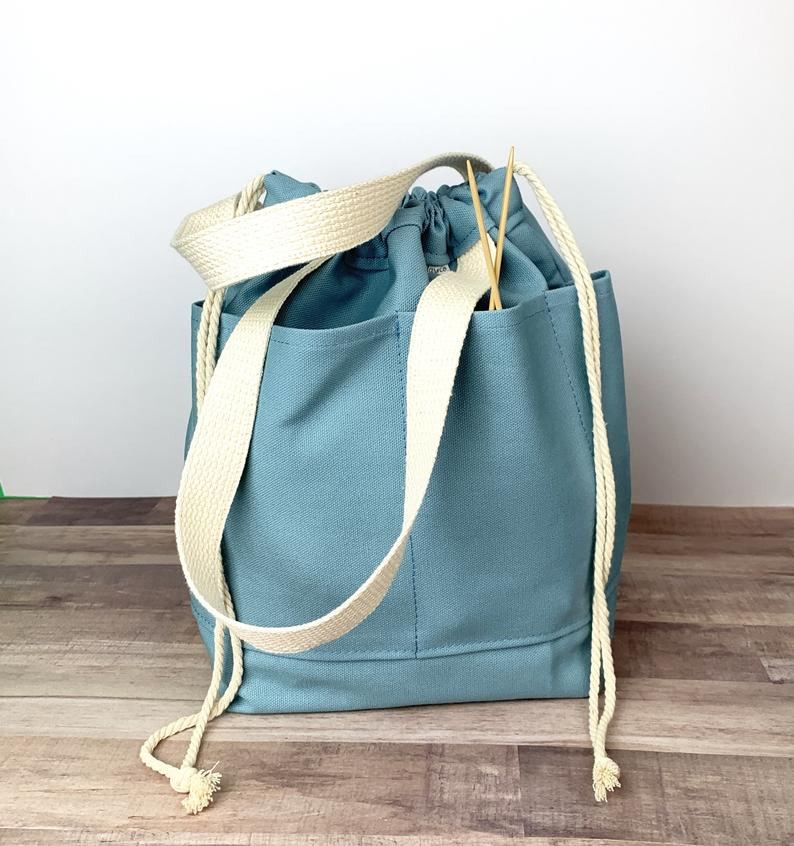 Two-Handled Canvas Tote Bag
