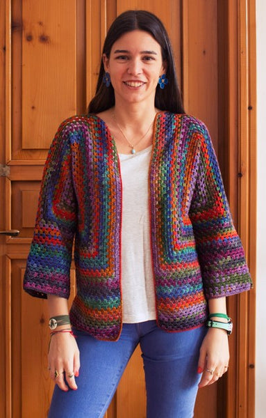 Urth - Squared Up Crochet Jacket Kit - Womens Sizes