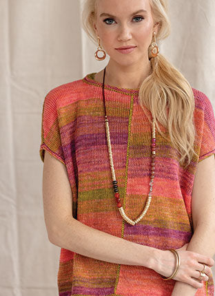 Prism Linen Boxy Tee Yarn Pack - Vogue Knitting Spring/Summer 2019