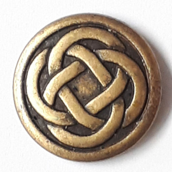 Celtic Knot Button with Shank