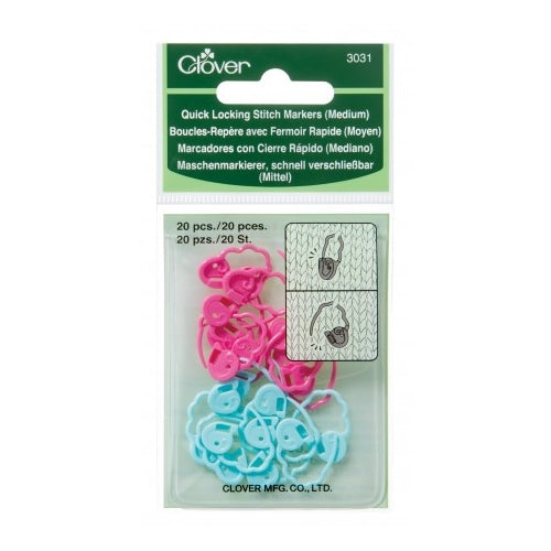 Quick Locking Stitch Markers - Medium