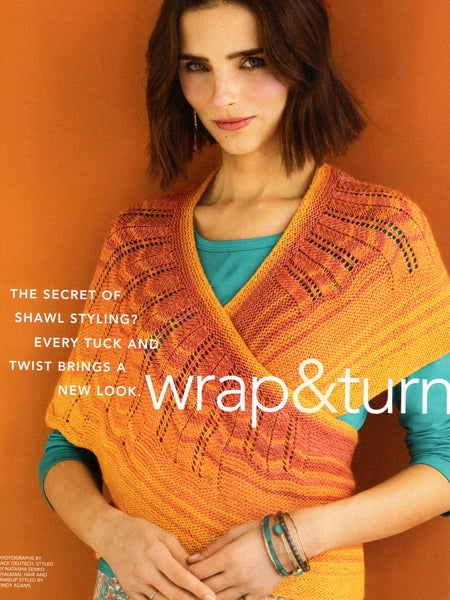 Curve Shawl Yarn Pack (Petite Madison) - Vogue Knitting Spring/Summer 2020