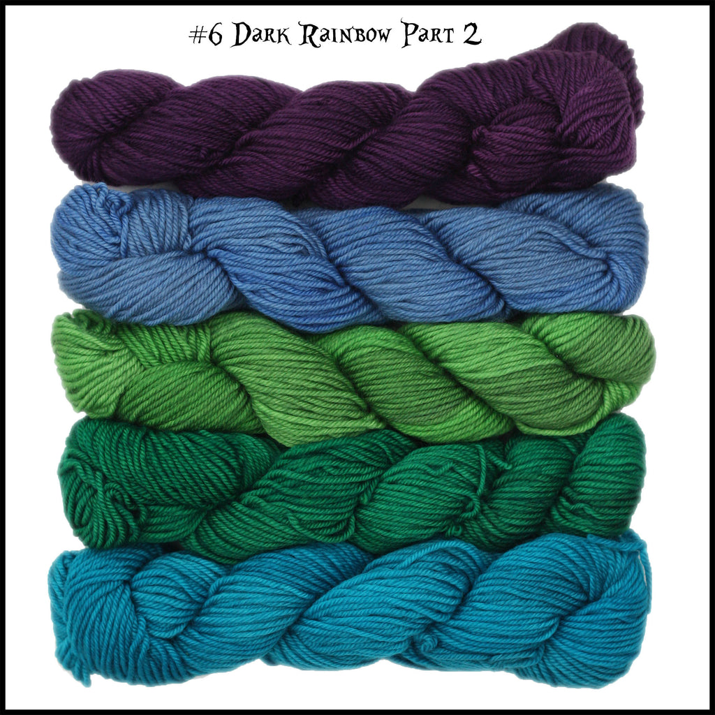 Mad Hatter Sport Weight Mini Skein Packs