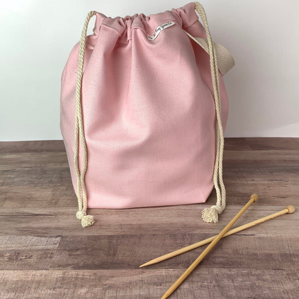 Canvas Project Bag - Blush