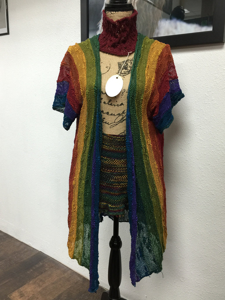 Rainbow Jacket Workshop  November 4 1:00-4:00 PM