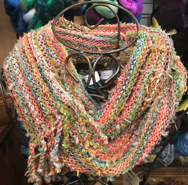 Prism Fiber Arts Bag Mini with Cowl and Scarf Patterns