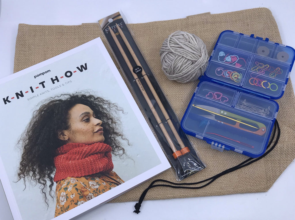 KNIT HOW Learn to Knit Group Help Session - November 18 6:30-8:30 PM Central Time