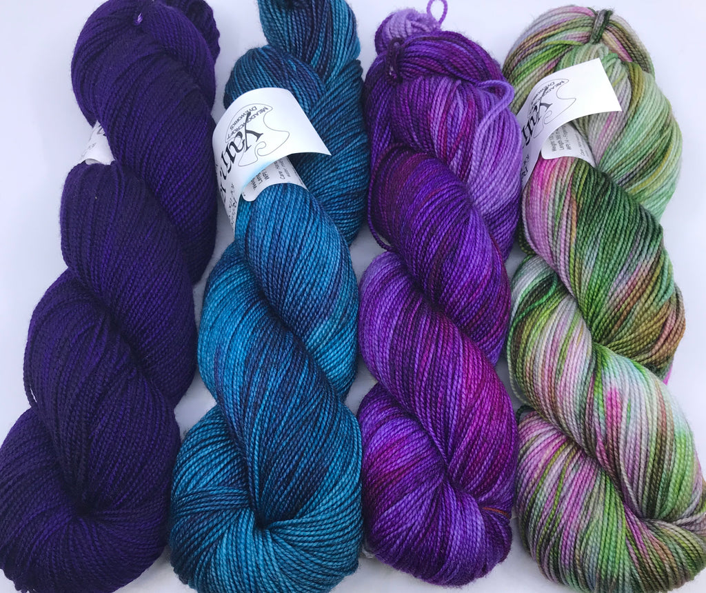 Casapinka Presents The Sharon Show MKAL - Yarn Pack Meadowcroft Dyeworks