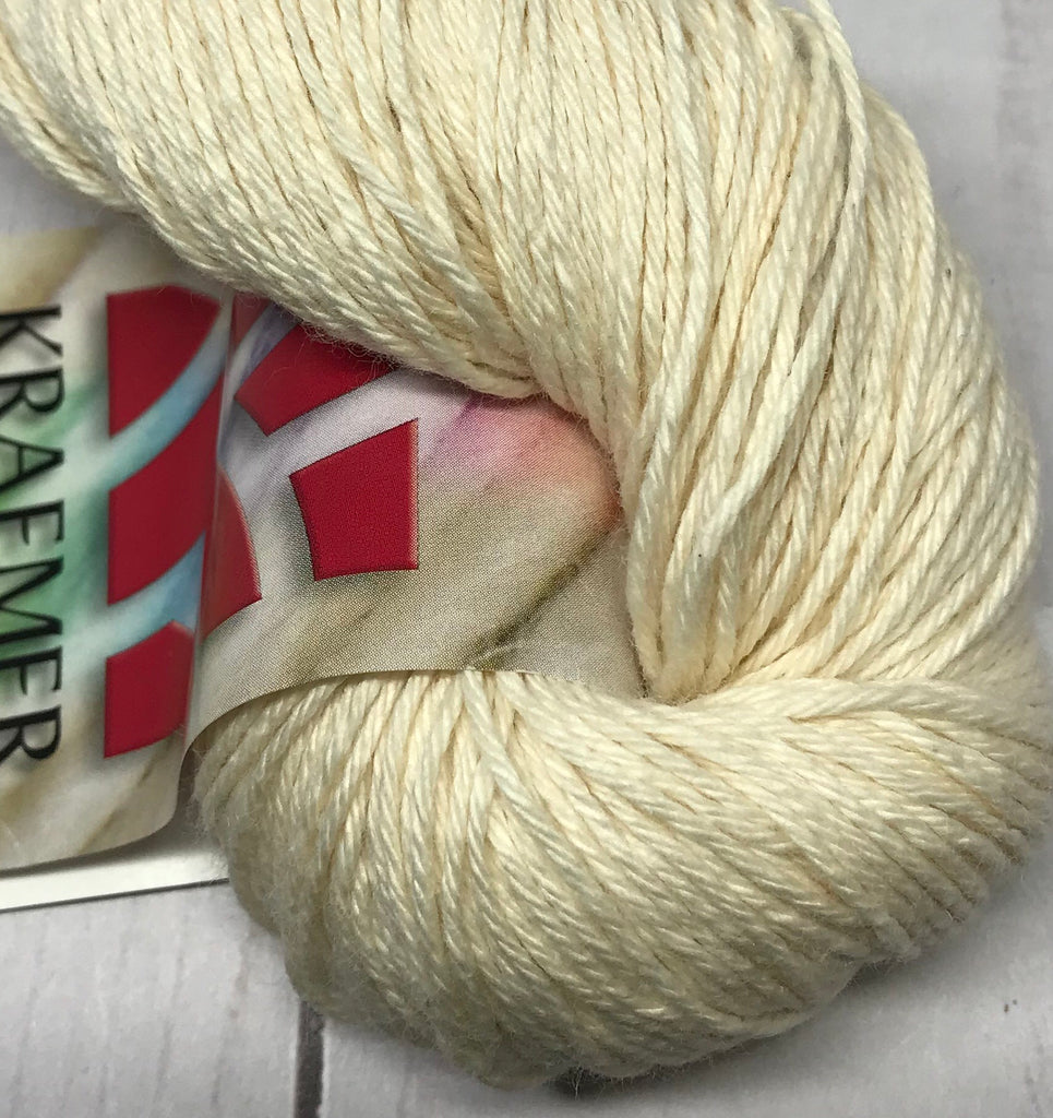 Patti US Organic Combed Cotton Fingering Weight Undyed Yarn