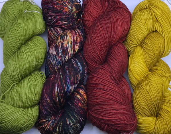 Casapinka Presents The Sharon Show MKAL - Yarn Pack - Malabrigo Sock