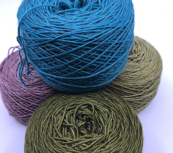 Casapinka Presents The Sharon Show MKAL - Quixotic Silky Yak Yarn Pack
