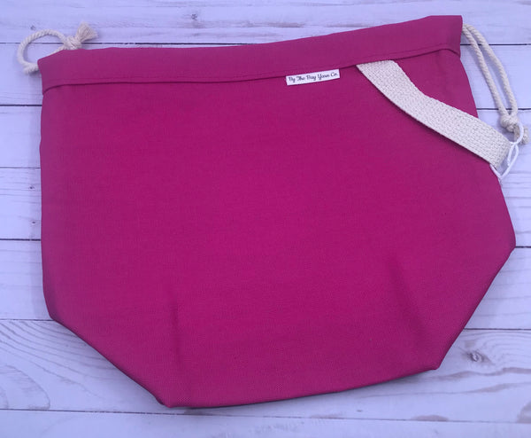 Canvas Project Bag - Pink