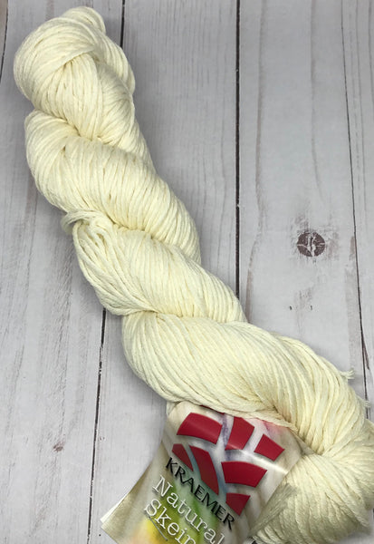 Rosa 16 ply Superwash Merino Worsted Weight Undyed Yarn