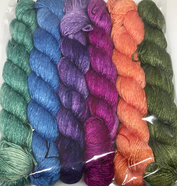 Auxanometer Half Skein Color Packs