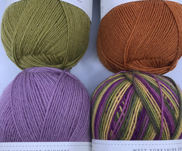 Casapinka Presents The Sharon Show MKAL - Yarn Pack - Signature 4 Ply