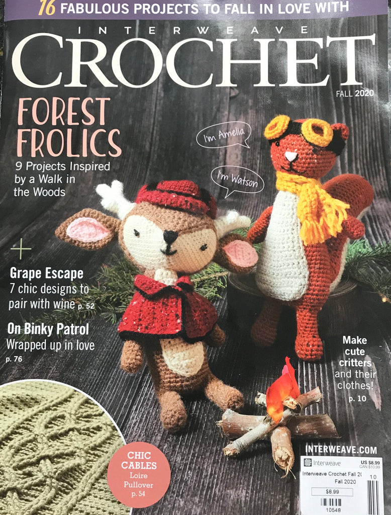 Interweave Crochet - Fall 2020