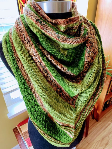 Casapinka's Magical Thinking Shawl Kit - Smooshy with Cashmere