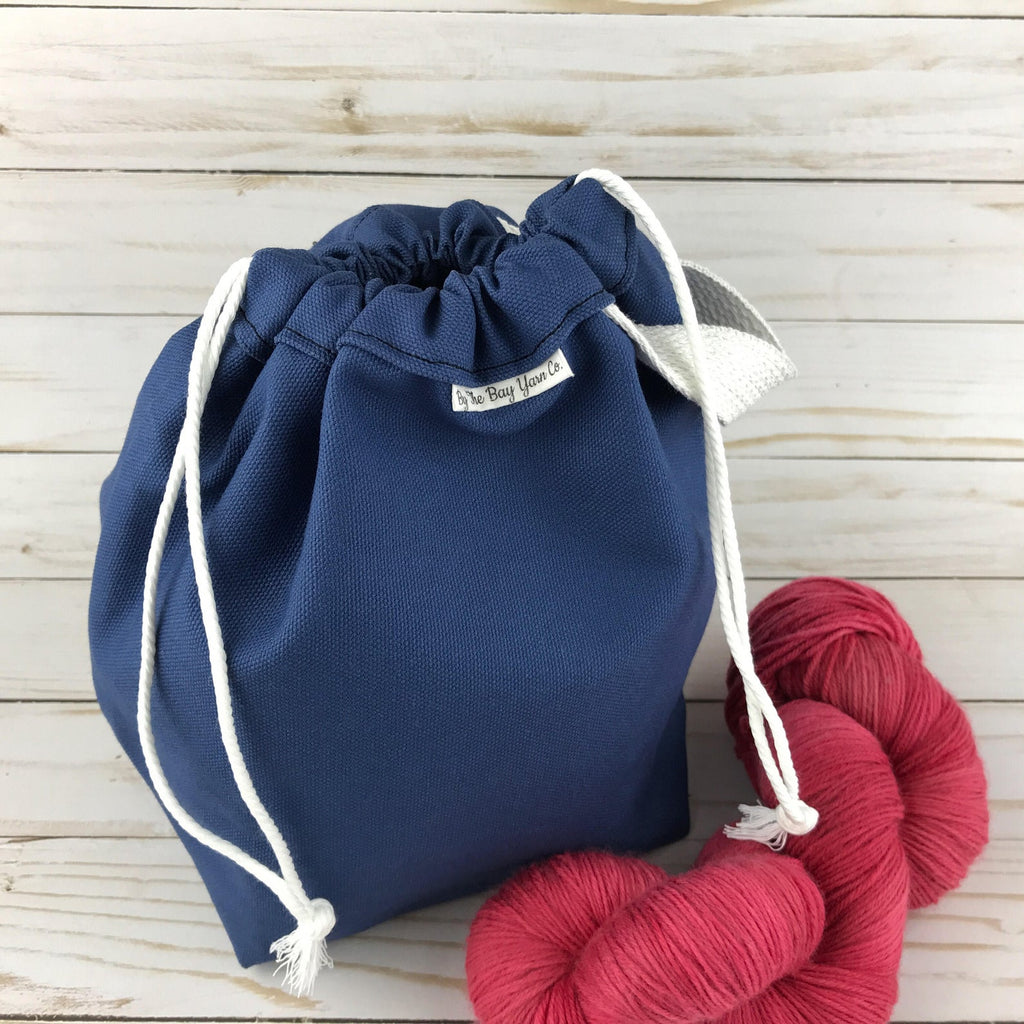 Canvas Project Bag - Navy