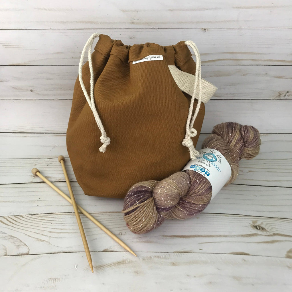 Canvas Project Bag - Nutmeg