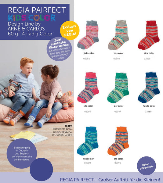 Regia Pairfect Kids Color Sock Yarn