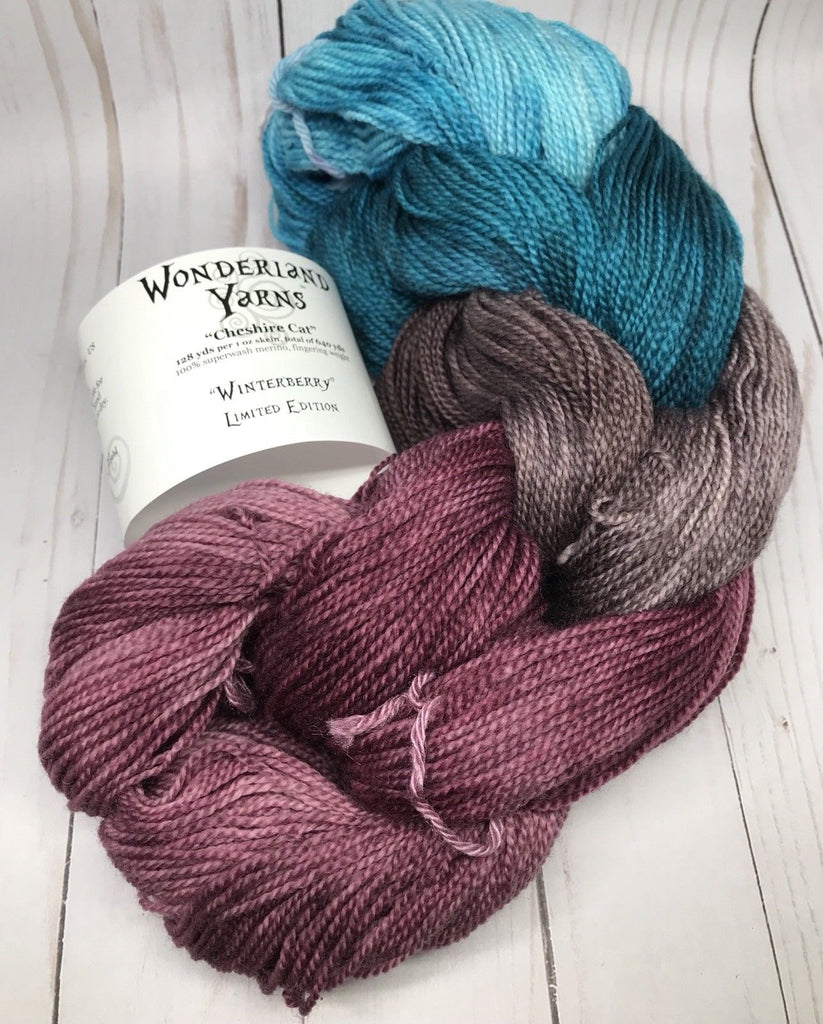 Cheshire Cat Pack of the Month Club - Limited Edition Mini Skein Packs