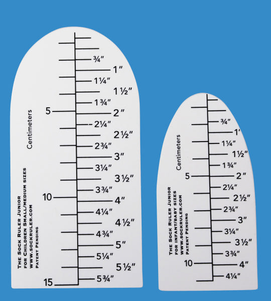 The Sock Ruler Junior