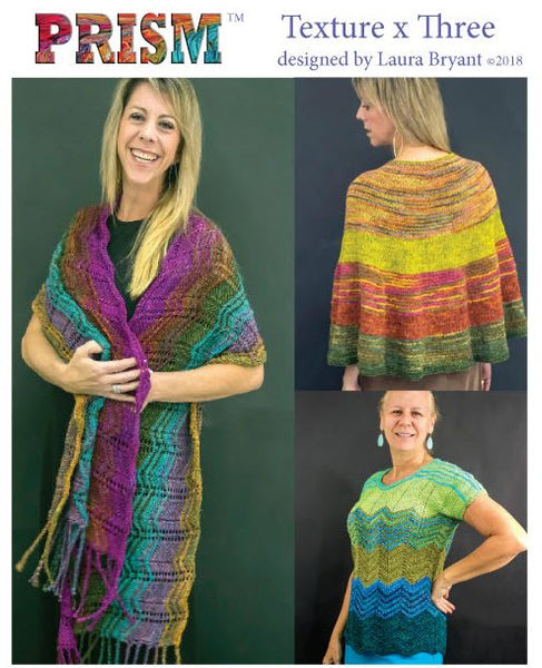 Texture x 3 Prism Windward and Kiwi Yarn Pack