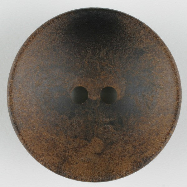 Round Wood Button - Two Hole