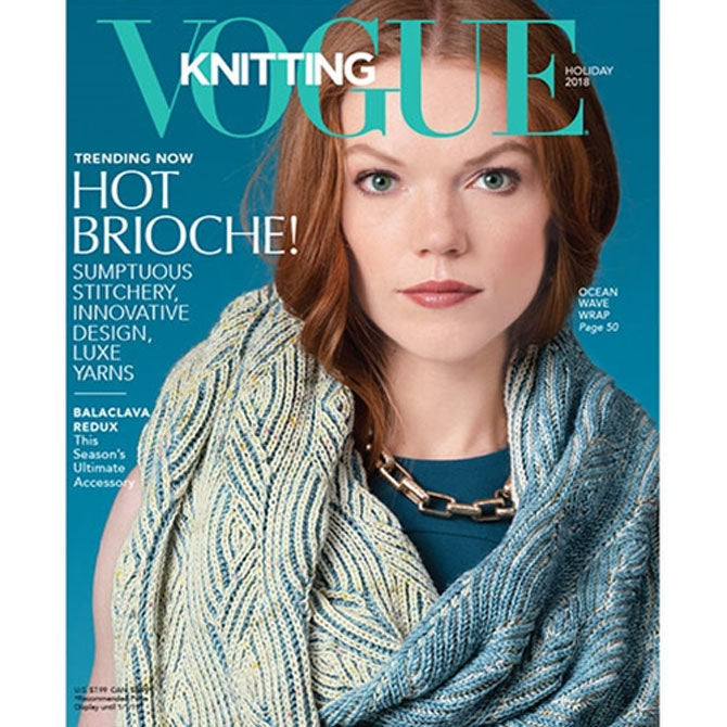 Vogue Knitting - Holiday 2018