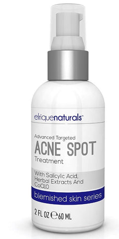 Acne Spot Treatment Benzoyl Peroxide With Salicylic Acid - Elrique Naturals