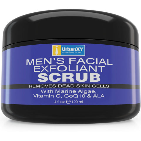 Exfoliating Facial Scrub For Men - Elrique Naturals
