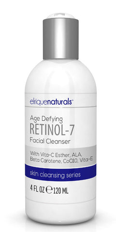Retinol Facial Cleanser With Vitamin C Ester - Elrique Naturals