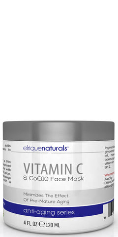 Natural Vitamin C Face Mask - Elrique Naturals