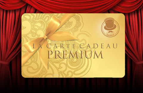 - Carte Cadeau Premium - 2 Places VIP pour le Comedy Brunch