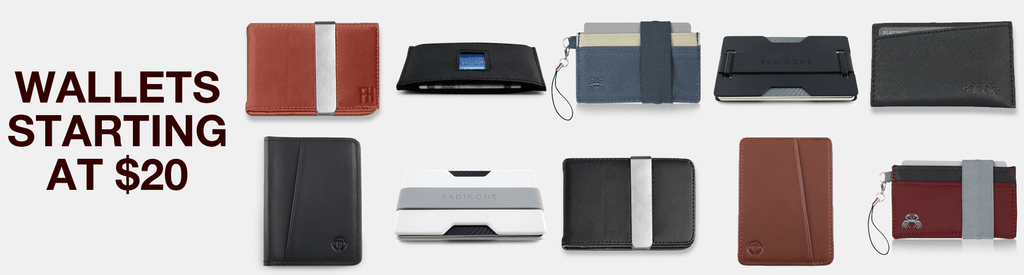Our Favorite Wallets Starting At $20