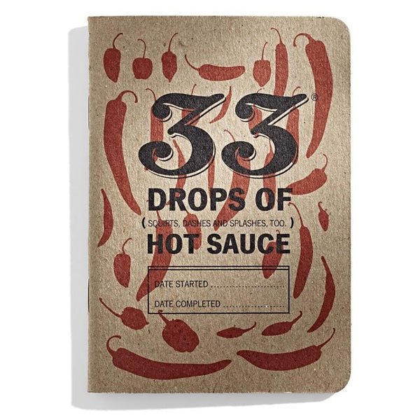 33 Drops of Hot Sauce Journal