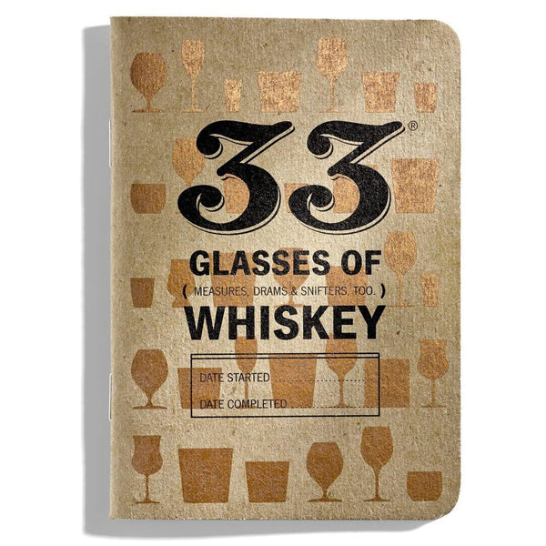 33 Glasses of Whiskey Journal