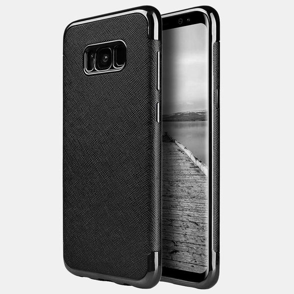 Samsung Galaxy S8 Plus Saffiano Luxury TPU Case