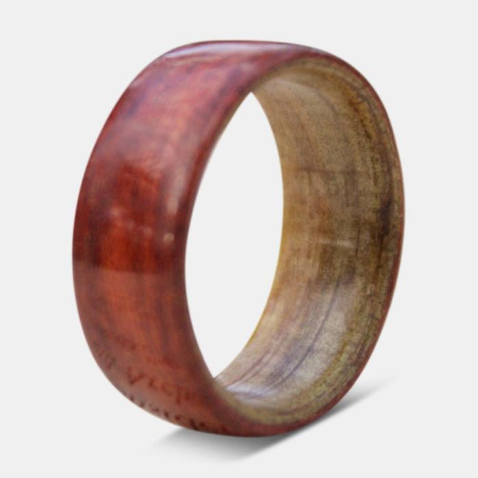 Handcrafted Bentwood Ring