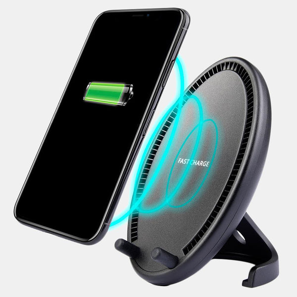 Universal QI Wireless Charging Egg Desktop Stand Charger