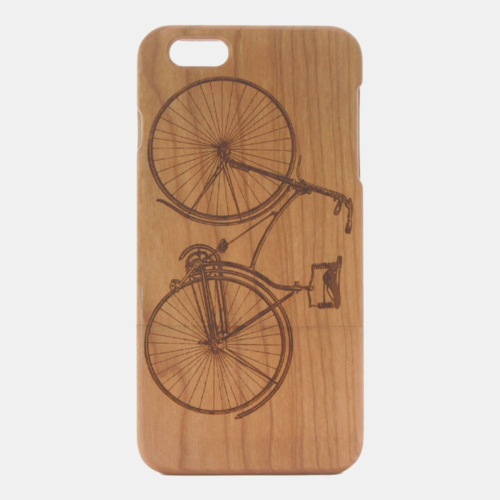 Bicycle Cherry Wood iPhone Case