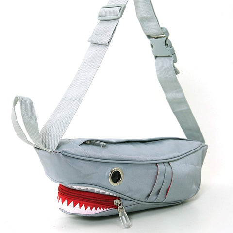 Premium Nylon Shark Fanny Pack with Gill Pockets