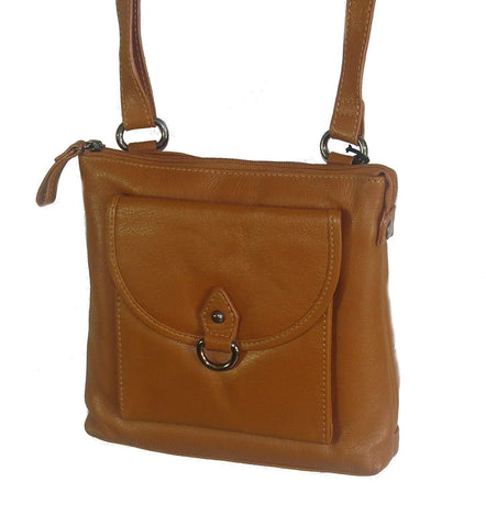 Paul & Taylor Genuine Leather Crossbody Bag with Card Slots Pocket 3015