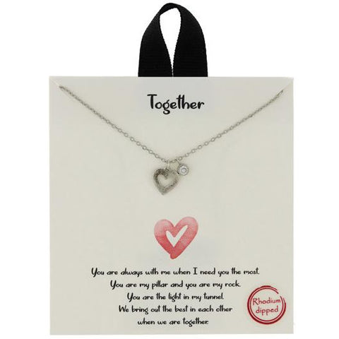 """Together"" Necklace"