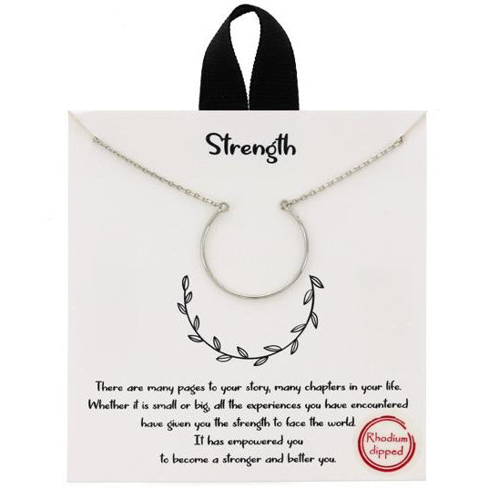 """Strength"" Necklace"