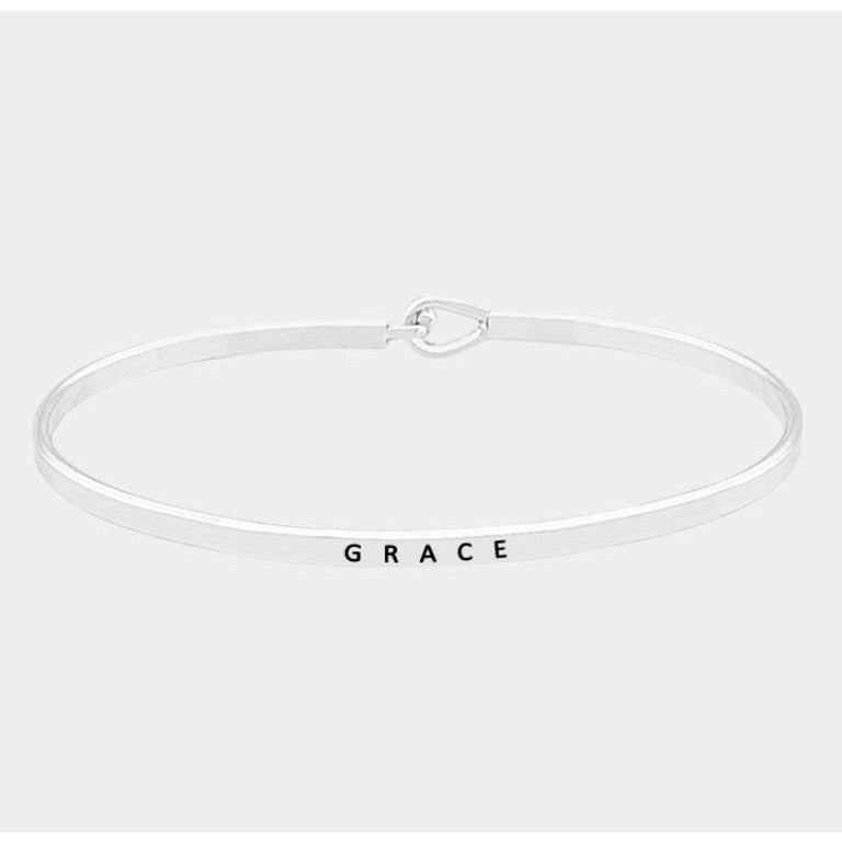 Grace Message Bracelet
