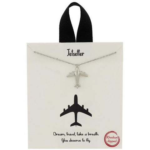 Jetsetter Positive Message Necklace